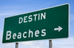 Destin Beaches sign