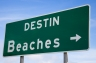 Destin Beaches sign